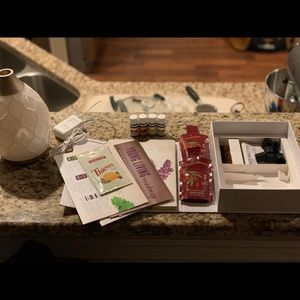 Young Living Diffuser and Oils